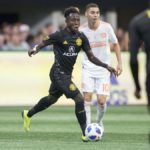 Ghanaian youngster Edward Opoku nominated for Man of the Match in Columbus Crew defeat to Atlanta City
