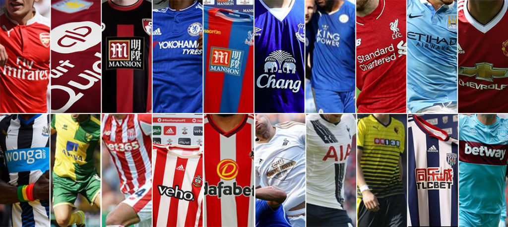 Brands in the Premier League. Do You Know Who Sponsors Your Favorite Team?