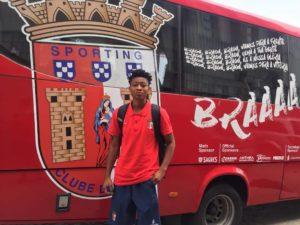 Former Black Maidens forward Alberta Ahialey joins Portuguese side Sporting Braga