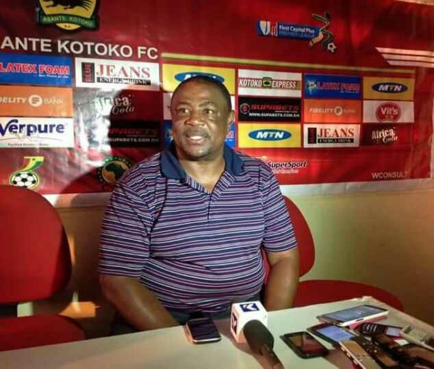 Breaking News: Paa Kwesi Fabin resigns as Asante Kotoko head coach after SEVEN months in charge