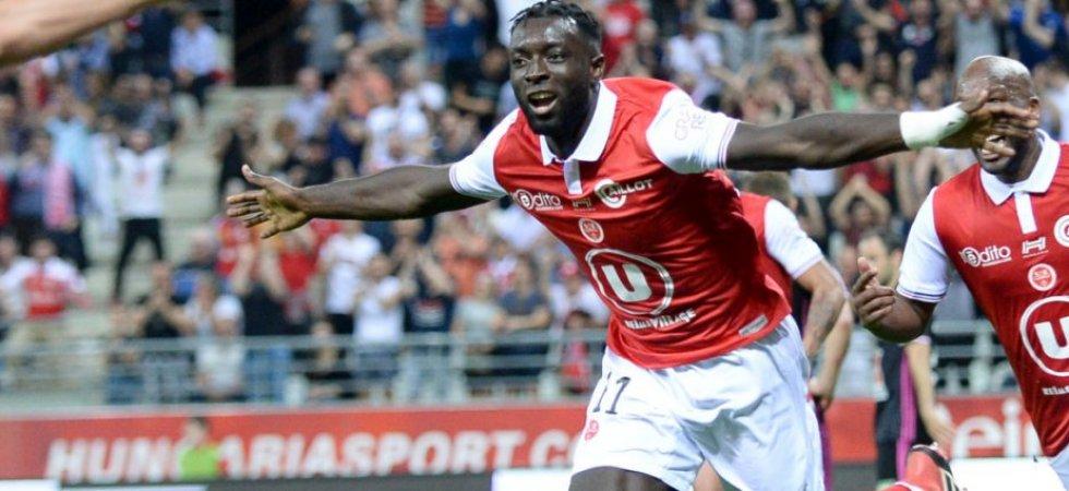 Reims Coach David Guion refuse Lens loan move for Greyjohn Kyei