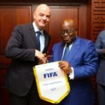 Ghana leader Akufo Addo phones FIFA President Infantino over looming ban