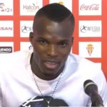 Midfielder Isaac Cofie debuts for Sporting Gijon on opening day of Spanish second-tier