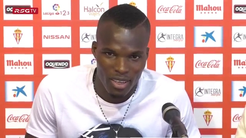 Sporting Gijon star Isaac Cofie recounts how he nearly quit football