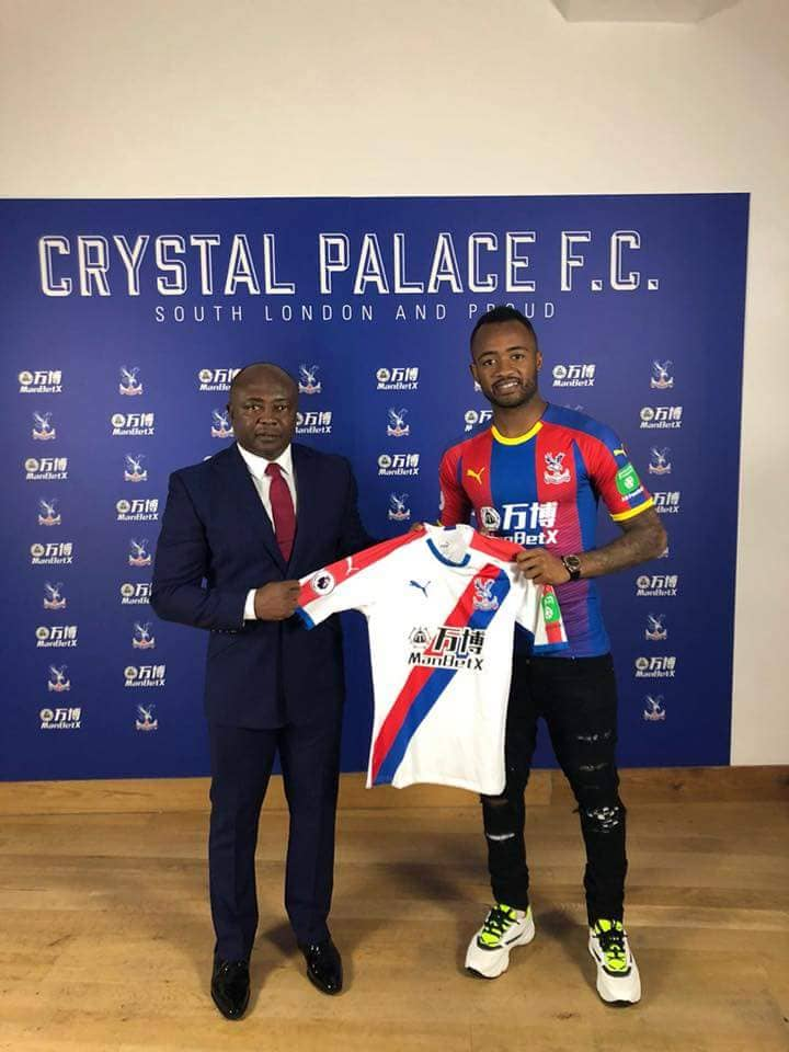 Ghana striker Jordan Ayew joins Crystal Palace on a season long loan