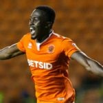 In-form Ghanaian forward Joe Dodoo bags brace for Blackpool in Checkatrade Trophy win over Accrington Stanley