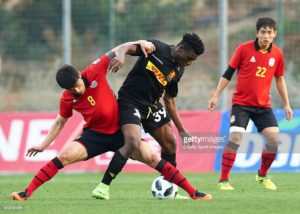 Kudus Mohammed marks Europa League debut for FC Nordsjaelland in defeat against Partizan Belgrade