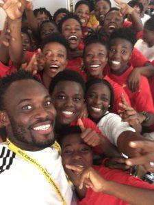 Pius Hadzide lavishes praise on Michael Essien for visiting Black Princesses camp