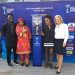 VIDEO: Ghana ace Michael Essien surprises Black Princesses with a visit ahead of opener against France