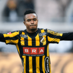 WATCH VIDEO: Ghanaian forward Nasiru Mohammed hits a brace as BK Hacken thrash Djurgården IF