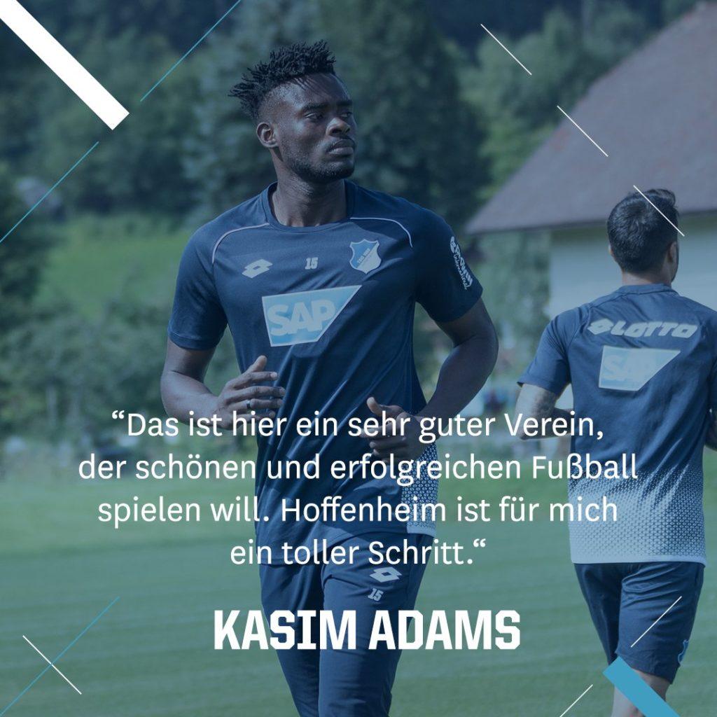 Kasim Nuhu reveals Isaac Vorsah talks before joining German side Hoffenheim