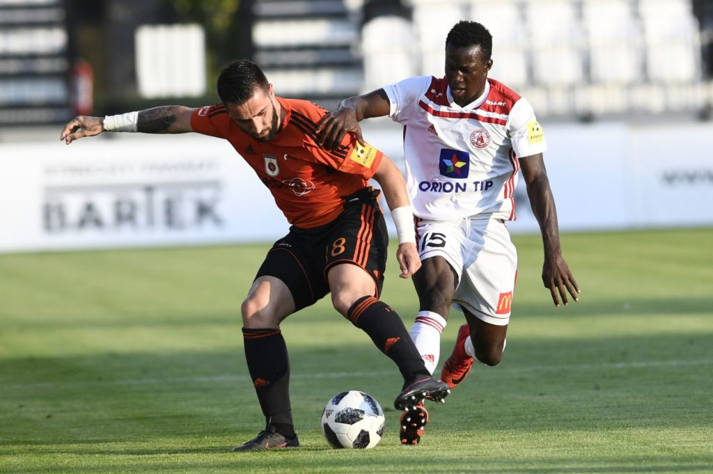 VIDEO: Ghanaian prodigy Osman Bukari bags brace and set-up another as Trencin thrashed Švošov in Slovak Cup