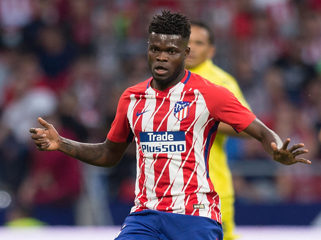 atletico madrid ace thomas partey marks 100th la liga appearance in