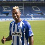 Ghana forward Patrick Twumasi unveiled at Spanish side Deportivo Alaves