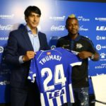 Deportivo Alaves manager Abelardo Fernández satisfied with the acquisition of Ghana forward Patrick Twumasi