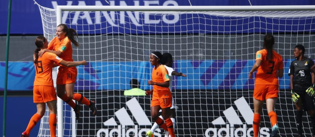 Ghana humiliated as Netherlands knock them out of FIFA U20 Women's World Cup