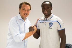Ghana striker Raphael Dwamena thanks FC Zurich for supporting him during tough times