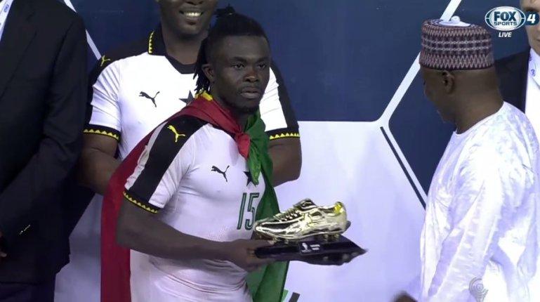 WAFU golden boot winner Stephen Sarfo on the radar of Tunisian giants Club Africain