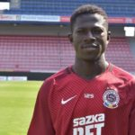 Ghanaian youngster Zeberu Sharani targets titles with new side Sparta Prague
