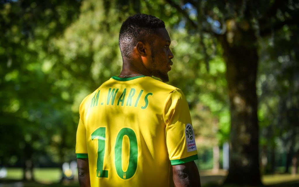Abdul Majeed Waris handed iconic No.10 jersey at French side Nantes FC