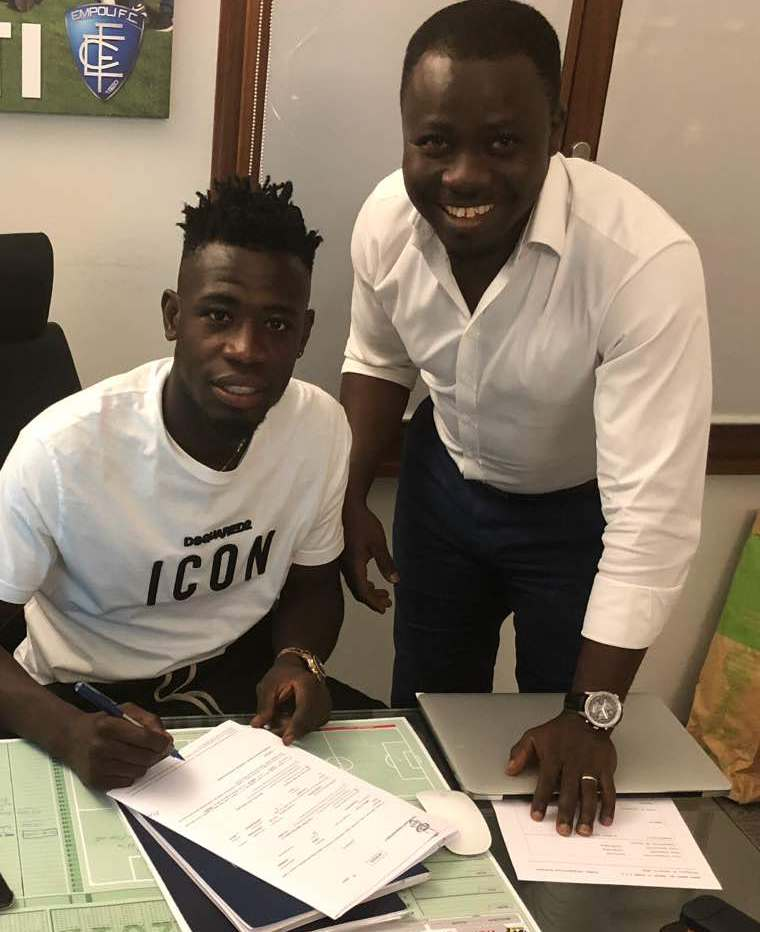 CONFIRMED: Midfielder Afriyie Acquah finalizes season-long loan move to Empoli