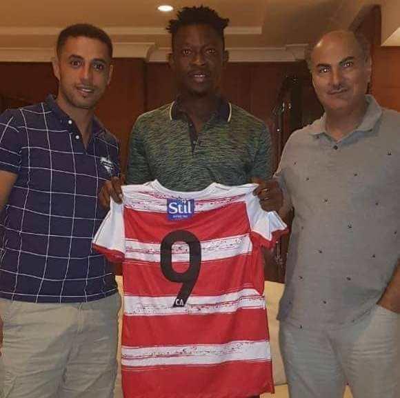 Tunisian giants Club Africains sign Derrick Sasraku on a three-year deal