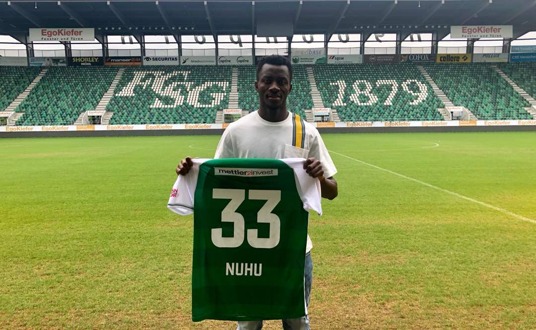 Ex-WAFA defender Musah Nuhu impresses on debut for St Gallen in win against FC Zurich