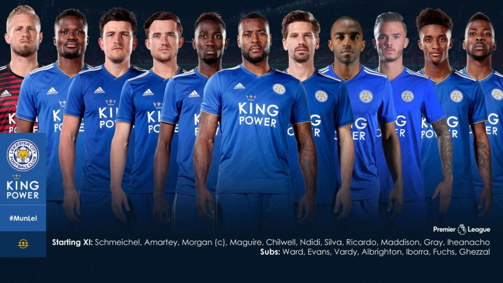 Ghana defender Amartey handed Leicester City starting place in season opener against Man Utd