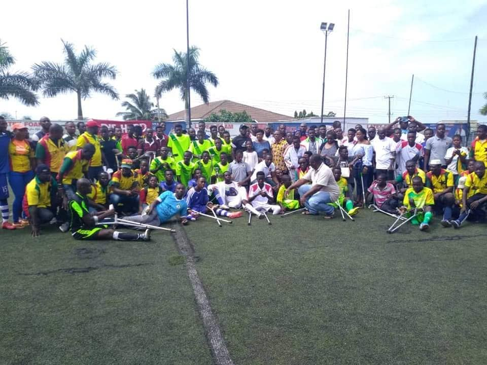 Ghana Amputee Football League returns on Sunday
