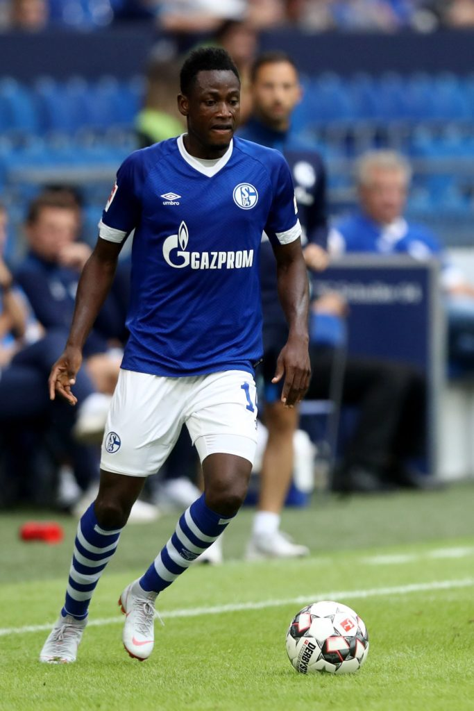 Schalke ace Baba Rahman makes first start in Germany after 605 days