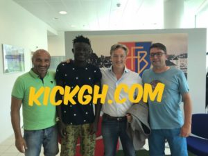 Dreams FC youngster Bashiru Alhassan joins Swiss giants FC Basel
