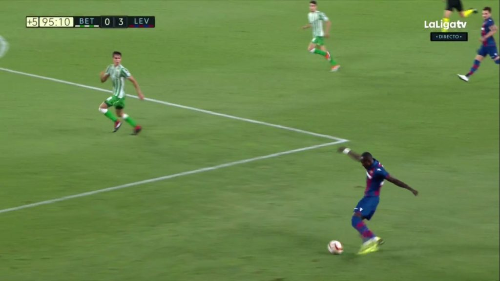 Ghana striker Dwamena makes big impression on La Liga debut as Levante hammer Betis