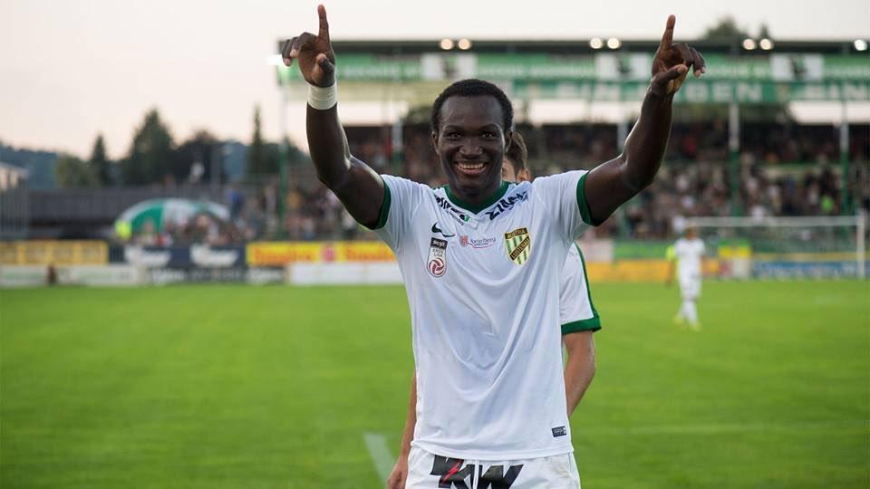 Ghana striker Raphael Dwamena gets his first Levante call-up for La Liga opener