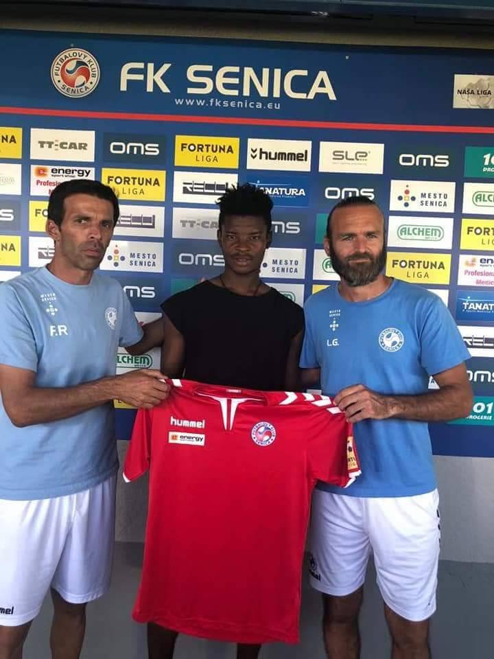 EXCLUSIVE: Ghanaian midfielder Edmund Addo joins Slovakian side FC Senica