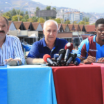 PHOTOS: Ghanaian striker Caleb Ekuban completes Trabzonspor loan deal