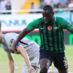 Europa League: Striker Elvis Manu tastes defeat on Akhisarspor debut in Europe