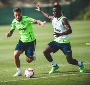 Ghanaian striker Emmanuel Boateng resumes training with Levante