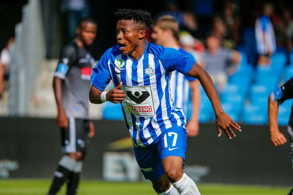 Ghana youth attacker Emmanuel Oti excels as Esbjerb record first win in Danish top flight league