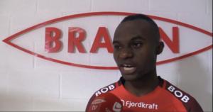 Ghana midfielder Gilbert Koomson thrilled with his debut strike for SK Brann