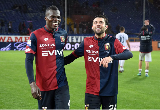Italian side Genoa consider Isaac Cofie re-signing