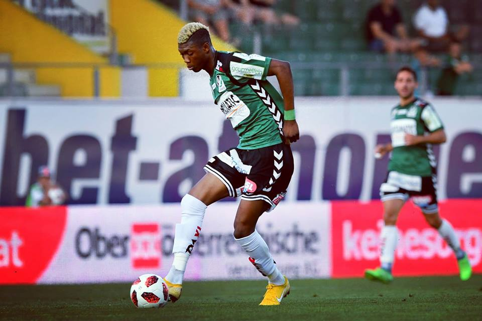 SV Ried defender Kennedy Boateng expresses delight with victory over FC Liefering
