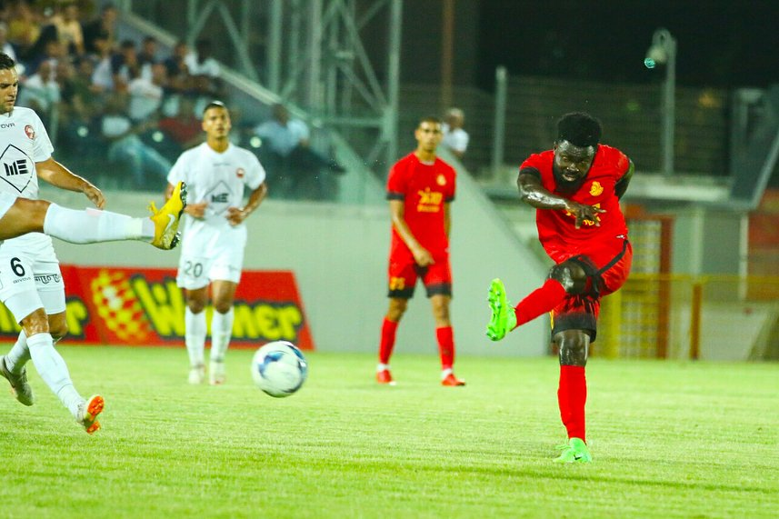 Former Dreams FC captain Leonard Owusu marks debut for Ashdod FC in Israeli Cup