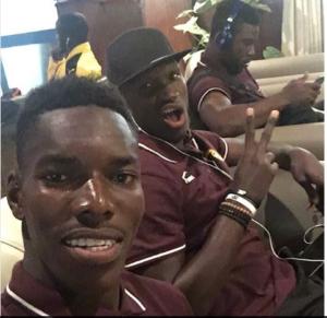 Lumor Agbenyenu congratulates Raphael Dwamena on transfer to UD Levante