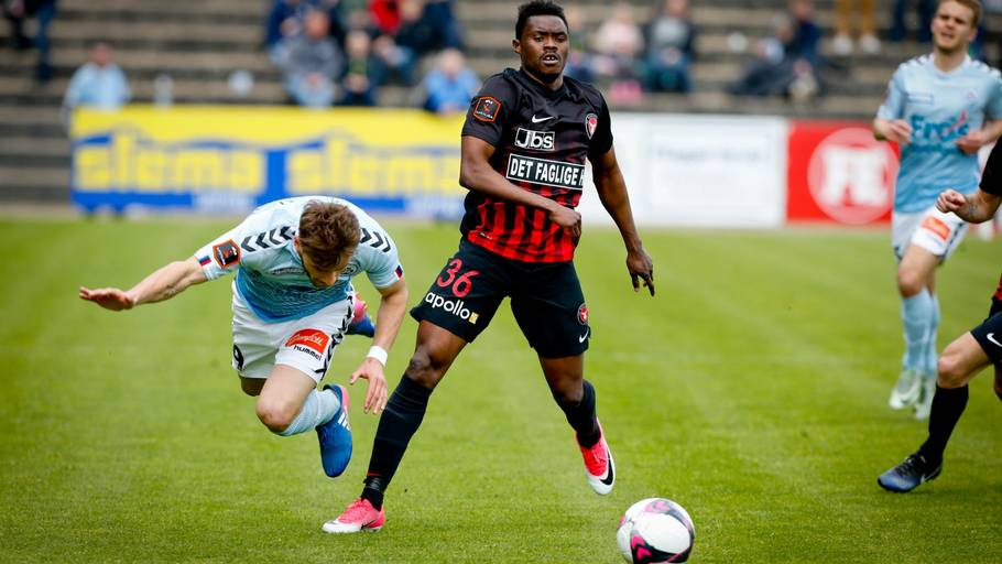 Ex-vision FC star Michael Baidoo marks Europa League debut for FC Midtjyllandin victory over TNS