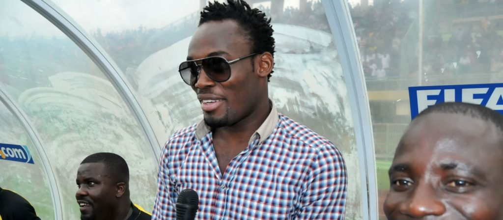 Former Ghana midfielder Michael Essien not thinking about retirement from football