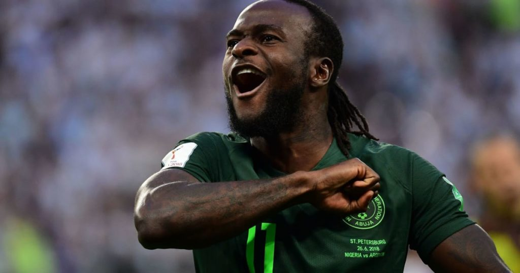 Victor Moses retires from Nigeria national team at 27, wants to focus on Chelsea