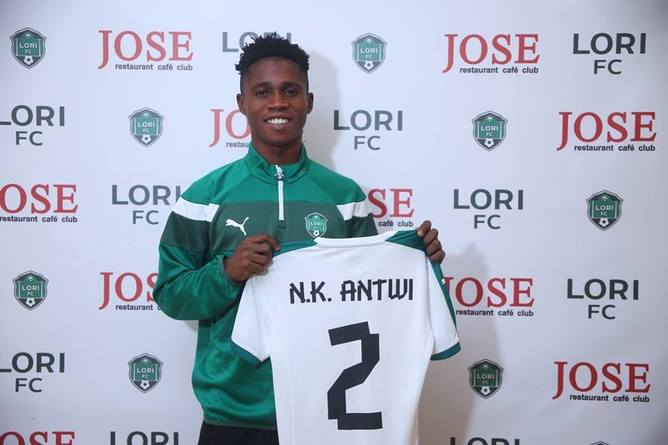 Ghanaian youngster Nana Kwame Antwi joins Armenian side Lori FC
