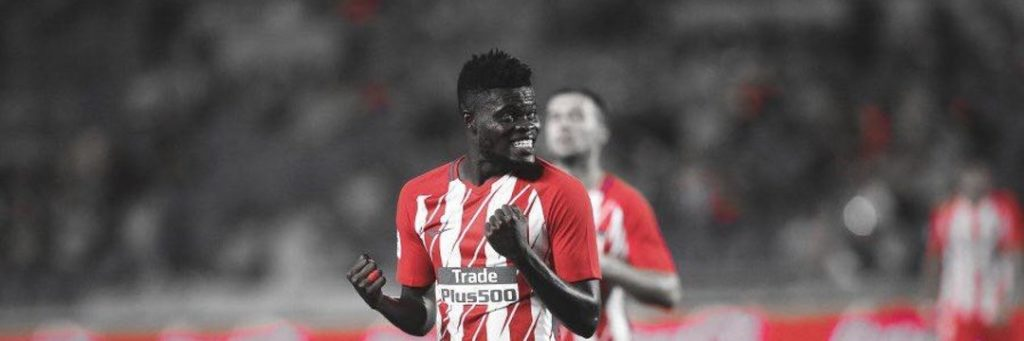 Atletico Madrid ace Thomas Partey makes UEFA Super Cup history for Ghana