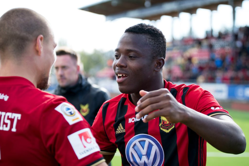 Patrick Kpozo revels in super-sub performance for Ostersunds FK in victory over Kalmar FF