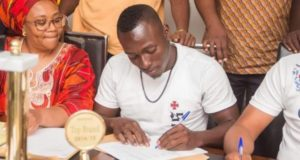 Hearts of Oak winger Patrick Razak signs bumper deal with Joy Industries